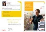 Wachstumspotenziale für Hausdruckereien ... - Canon Deutschland