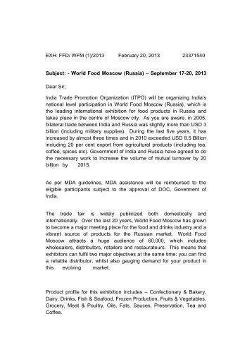 Circular letter 2796 abel circular letter india trade promotion organisation altavistaventures Images