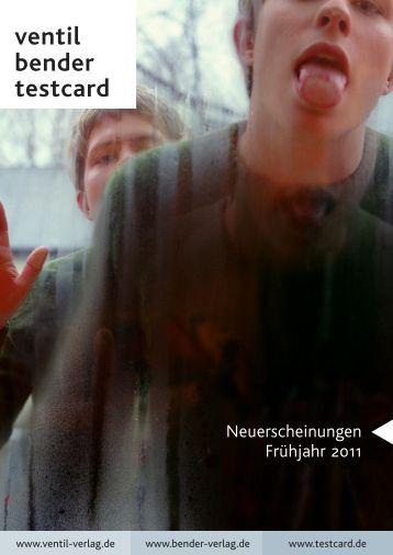 Vorschau Ventil - Frühjahr 2011 - indiebook
