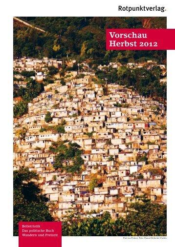 Vorschau Herbst 2012 - indiebook