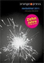 Vorschau Herbst 2011 - indiebook