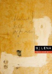 Frühjahr 2011 (PDF, 2.6MB) - Milena Verlag