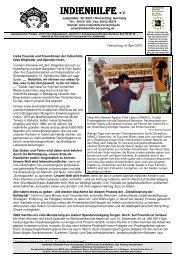 Das Editorial als pdf-Datei (370 kb) - Indienhilfe Herrsching