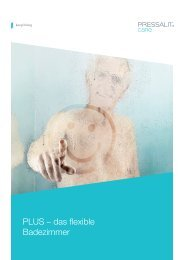 PLUS – das flexible Badezimmer