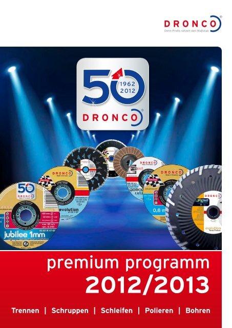 Dronco Special GRF Diamant-Trennscheibe ø115 Feinsteinzeug