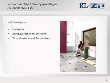 barrierefreies bad planungsgrundlagen din 18040 2 2011 09. Black Bedroom Furniture Sets. Home Design Ideas
