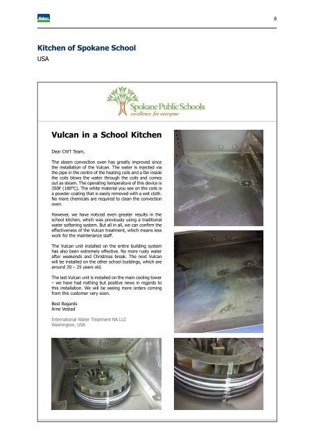 Vulcan Anti-Scale System - Reference Book (EN)