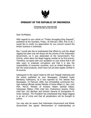 Visa Application Embassy Of The Republic Of Indonesia