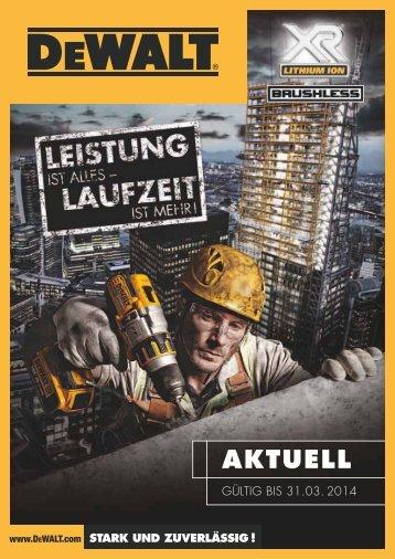DeWalt Katalog 2013/2014