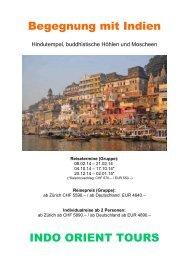 Indien zum Kennenlernen - Indo Orient Tours