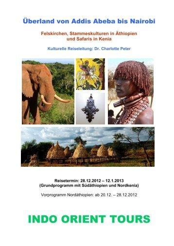 Überland von Addis Abeba bis Nairobi - Indo Orient Tours