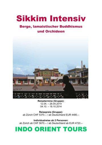 Sikkim Kulturreise - Indo Orient Tours