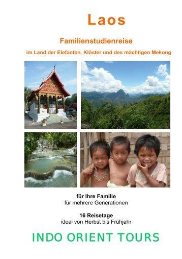 im Land der Elefanten, Klöster und des mächtigen - Indo Orient Tours