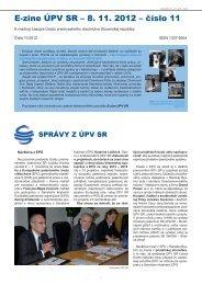 E-zine ÚPV SR - Úrad priemyselného vlastníctva SR