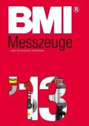 BMI Messzeuge Katalog 2013/14