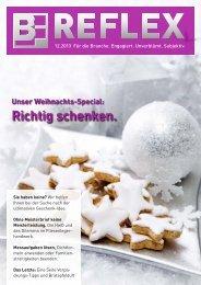 BF.REFLEX Ausgabe 12/13 downloaden - Bergmann & Franz