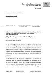 Bayerisches Staatsministerium für Unterricht und Kultus - BLLV
