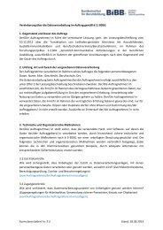 Vereinbarung über die Datenverarbeitung im Auftrag gemäß ... - BiBB