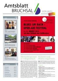 Amtsblatt KW 31/2013 - Bruchsal