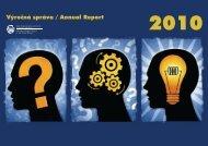 Výročná správa / Annual Report - Úrad priemyselného vlastníctva SR