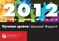 Výročná správa 2012 - Úrad priemyselného vlastníctva SR