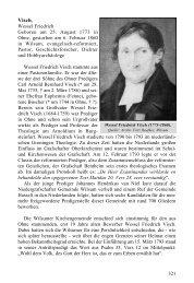 Visch, Wessel Friedrich - Die Evangelisch-altreformierte Kirche in ...