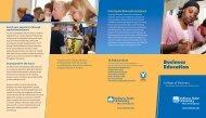 Business Education - Indiana State University