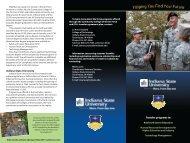 CCAF-ISU Brochure - Indiana State University