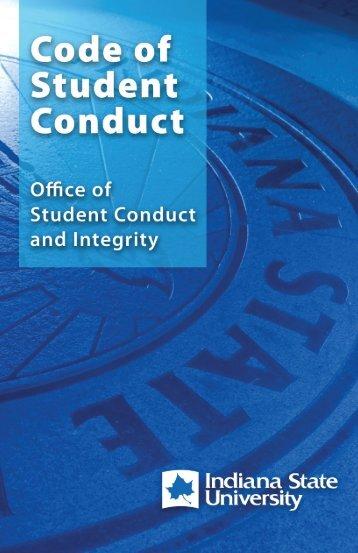 ISU Code of Student Conduct - Indiana State University