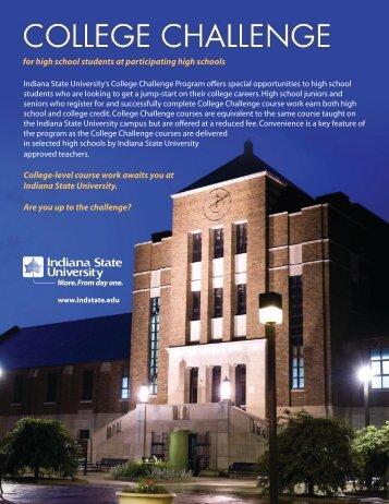 Brochure (PDF) - Indiana State University