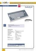 Folienabgedeckte Flacheingabe- tastaturen der TKF-Reihe - InduKey - Seite 2