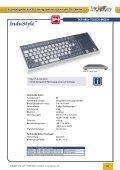 Folienabgedeckte Flacheingabe- tastaturen der TKF-Reihe - InduKey - Seite 3