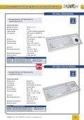Folienabgedeckte Flacheingabe- tastaturen der TKF-Reihe - InduKey - Seite 7