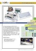 Kundenspezifische Tastaturen und Dateneingabegeräte - InduKey - Seite 4