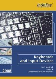 Short Travel Keyboards - InduKey