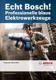Bosch Porgramm 2013/2014