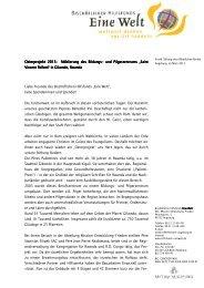 und Pilgerzentrums Saint Vincent Pallotti in ... - Bistum Augsburg
