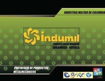 BROCHURE METALMECANICO FUNDICIÓN 2013 - Indumil