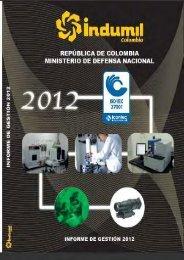 Informe de gestion 2013.pdf - Indumil