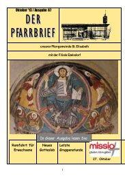 Nr. 67 - Oktober 2013 - Bistum