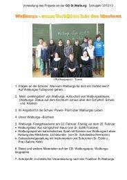 Jahr des Glaubens-Walburga - Eichstätt