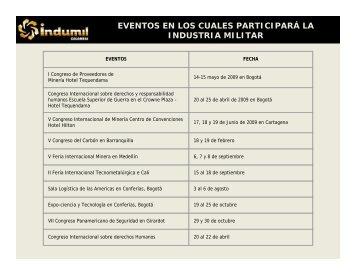 CALENDARIO DE EVENTOS NOV.pdf - Indumil