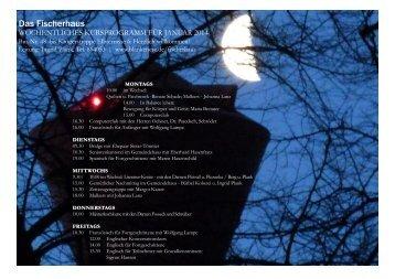 Programm Januar 2014 - in Blankenese