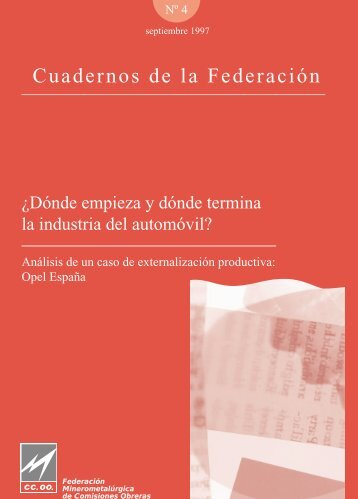 documento - Federación de Industria - CCOO