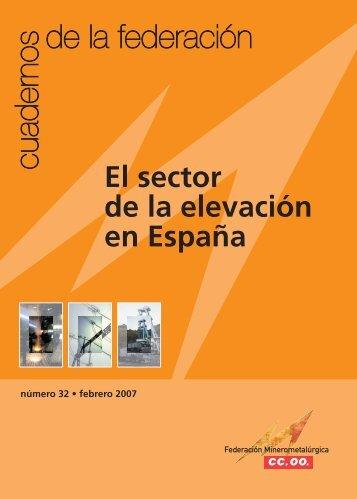 El sector de la elevación en España - Federación de Industria - CCOO