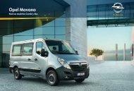 Opel Movano Combi y Bus - Inicio