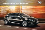 Opel Astra & Opel Astra Sports Tourer - Inicio