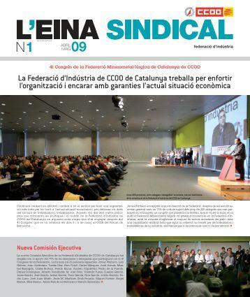29. L'Eina sindical - Federación de Industria - CCOO