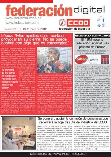 digital - Federación de Industria - CCOO
