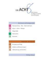 Gib Acht - Arbeitssicherheit und Gesundheitsschutz der ELKB